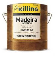 VERNIZ SINTETICO NATURAL KISALACK 3,6L ONU1263 - KILLING