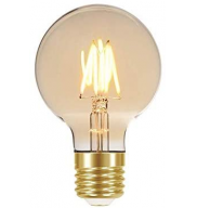 LAMPADA LED FILAMENTO VINTAGE GLOBO 3W E27 AUTOV - TASCHIBRA