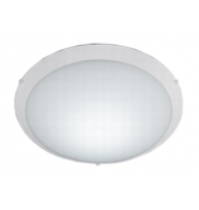 PLAFON REDONDO NEW CLEAN LED 10W 220V 25CM BR - LLUM