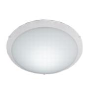 PLAFON REDONDO NEW CLEAN LED 10W 220V 25CM BR - LLUM