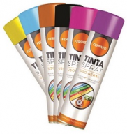 TINTA SPRAY U.GERAL FUNDO 400ML -CHEMICOLOR - ONU1950GREMBII