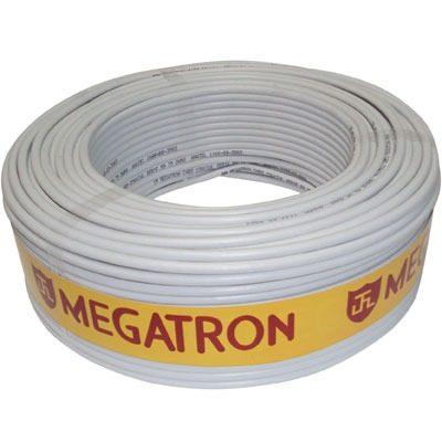 Fio Coaxial Antena Parabolica 75 OHM/ Malha 67 Megatron