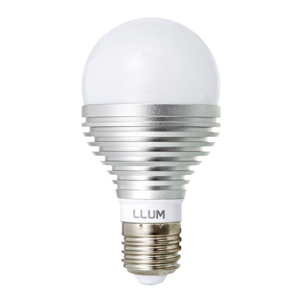 Lâmpada Bulbo Led PoP A65 5W 220V RGB Llum