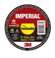 FITA ISOLANTE IMPERIAL SLIM 18MMX5M PRETA - 3M