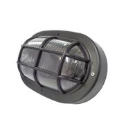 Luminária Tartaruga 60W  Preta Ilumi
