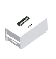 Módulo USB Para Tomada 2A Branco Slim Ilumi
