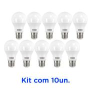 LAMPADA BULBO LED 9W 810 LUM TKL60 E-27 6500K BR- TASCHIBRA