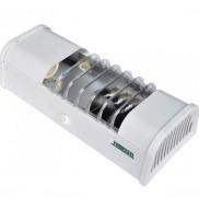 Luminária Aço Compacta Branca 2x E-27 Taschibra