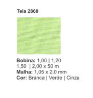 Tela Mosquiteiro 2860 1,2 X 50 metros Verde Telas Roma