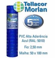 Tellacor Azul 2 metro 2,5mm (10X5cm) 25 metros Morlan