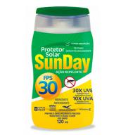 PROTETOR SOLAR C/REPEL FPS30 UVA 120ML SUNDAY - NUTRIEX